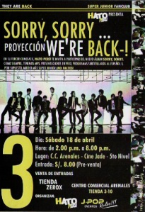 proyeccion-sorry-sorry-were-back